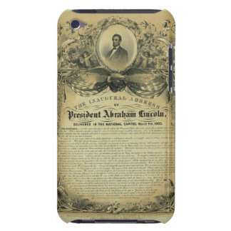 The Inaugural Address of President Abraham Lincoln iPod Touch Cases