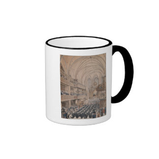 The inauguration of the city councillors ringer coffee mug