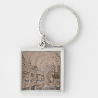 The inauguration of the city councillors Silver-Colored square keychain