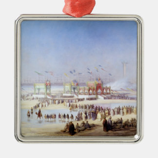 The Inauguration of the Suez Canal Metal Ornament