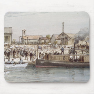 The Inauguration of the Suez Canal Mouse Pad