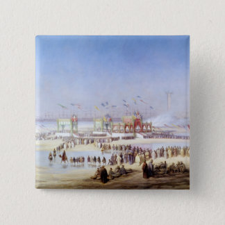 The Inauguration of the Suez Canal Pinback Button