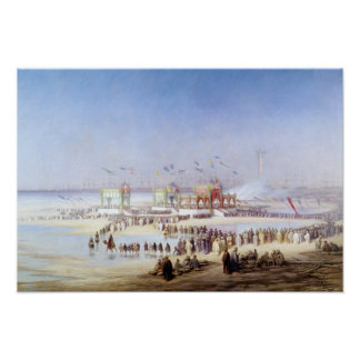The Inauguration of the Suez Canal Poster