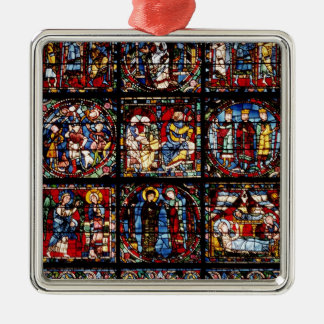 The Incarnation Window Christmas Ornaments