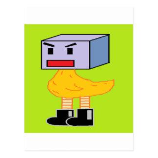 The Incomparable Box Chicken! Postcard