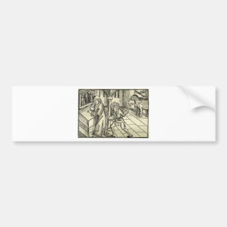 The inconvenient petitioners by Martin Schongauer Bumper Sticker