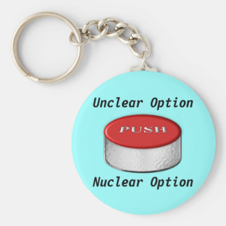 The Incredible 2 Letter Twist Basic Round Button Keychain