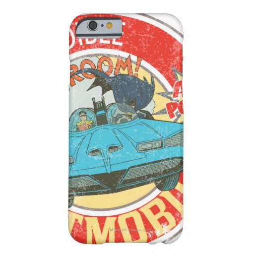 The Incredible Batmobile Icon Barely There iPhone 6 Case
