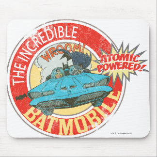 The Incredible Batmobile Icon Mouse Pad