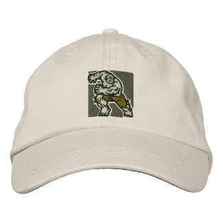 The incredible embroidered baseball cap