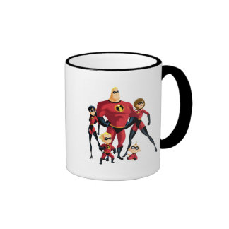 The Incredible Family Disney Ringer Coffee Mug