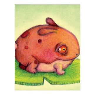 The incredible Frabbit Postcard