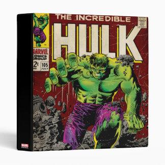 The Incredible Hulk Comic #105 Binder