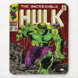 The Incredible Hulk Comic #105 Mouse Pad