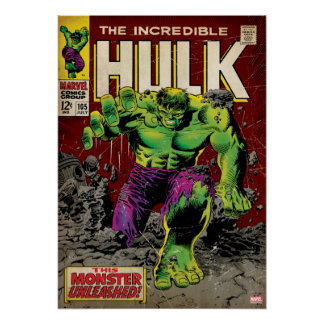 The Incredible Hulk Comic #105 Poster