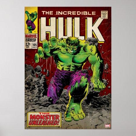 The Incredible Hulk Comic #105 Poster
