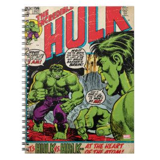 The Incredible Hulk Comic #156 Spiral Notebook