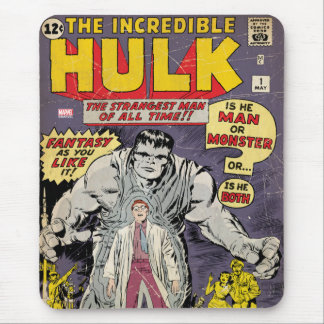 The Incredible Hulk Comic #1 Mouse Pad