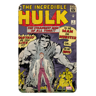 The Incredible Hulk Comic #1 Rectangular Photo Magnet