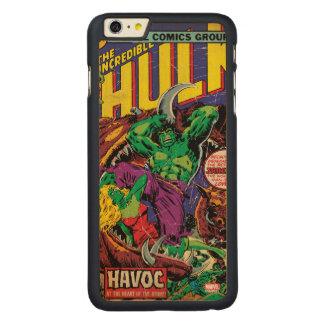 The Incredible Hulk Comic #202 Carved Maple iPhone 6 Plus Slim Case