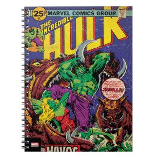 The Incredible Hulk Comic #202 Spiral Notebook