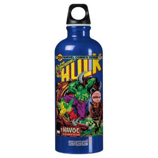 The Incredible Hulk Comic #202 Water Bottle