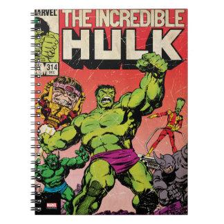 The Incredible Hulk Comic #314 Spiral Notebook
