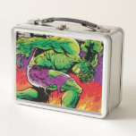 """The Incredible Hulk King Size Special #1 Metal Lunch Box<br><div class=""""desc"""">Check out this vintage king size special issue of The Incredible Hulk,  featuring The Hulk versus The Inhumans!</div>"""