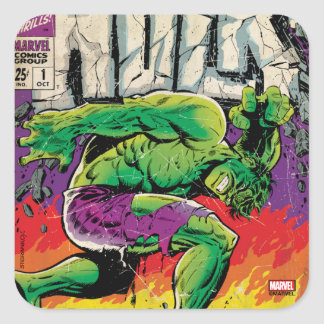 The Incredible Hulk King Size Special #1 Square Sticker
