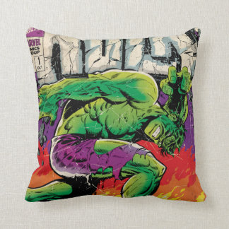 The Incredible Hulk King Size Special #1 Throw Pillow