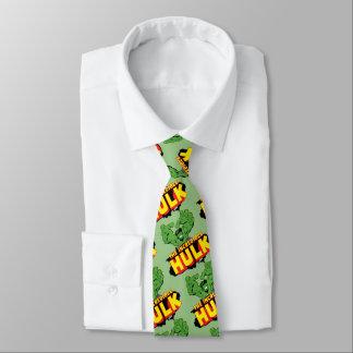 The Incredible Hulk Logo Neck Tie