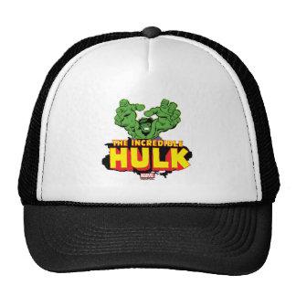 The Incredible Hulk Logo Trucker Hat