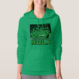The Incredible Hulk Retro Comic Icon Hoodie