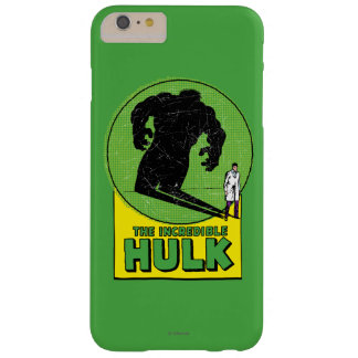 The Incredible Hulk Retro Graphic Barely There iPhone 6 Plus Case