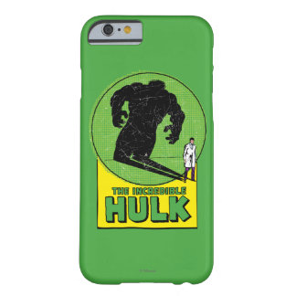 The Incredible Hulk Retro Graphic Barely There iPhone 6 Case