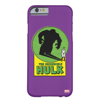 The Incredible Hulk Vintage Shadow Graphic Barely There iPhone 6 Case