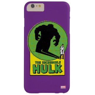 The Incredible Hulk Vintage Shadow Graphic Barely There iPhone 6 Plus Case