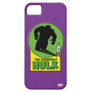 The Incredible Hulk Vintage Shadow Graphic iPhone SE/5/5s Case