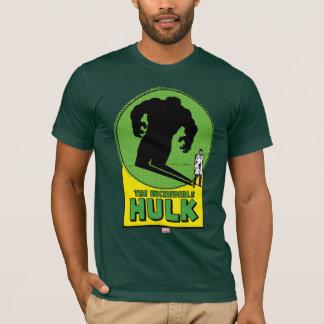 The Incredible Hulk Vintage Shadow Graphic T-Shirt