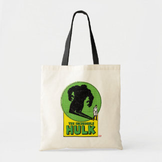The Incredible Hulk Vintage Shadow Graphic Tote Bag