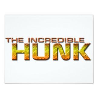 The Incredible Hunk Card