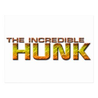 The Incredible Hunk Postcard