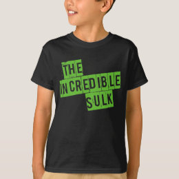 The Incredible Sulk Kids Tshirt