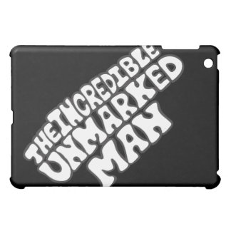The Incredible Unmarked Man Title iPad Mini Cover