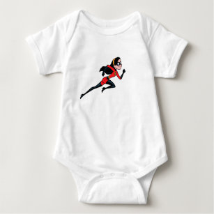 Violet baby clothes apparel zazzle the incredible violet disney baby bodysuit negle