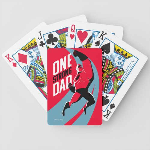 The Incredibles 2  One Strong Dad Bicycle Playing Cards