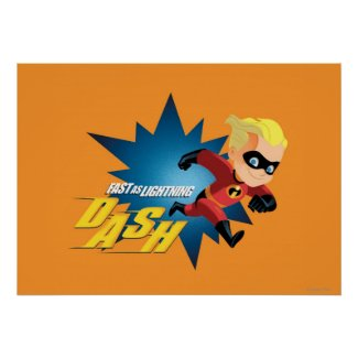 The Incredibles Dash Poster