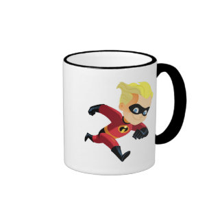 The Incredibles Dash running Disney Ringer Mug