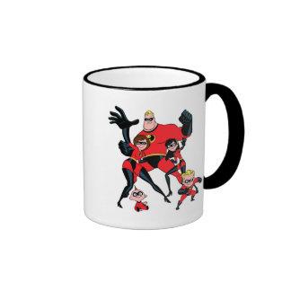 The Incredibles Disney Ringer Coffee Mug