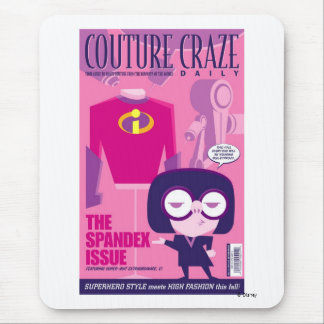 "The Incredibles' Edna ""Couture Craze"" Poster Mouse Pad"